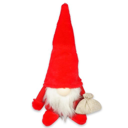 "14"" Holiday Christmas Gnome Indoor/Outdoor Decoration Red Outfit"