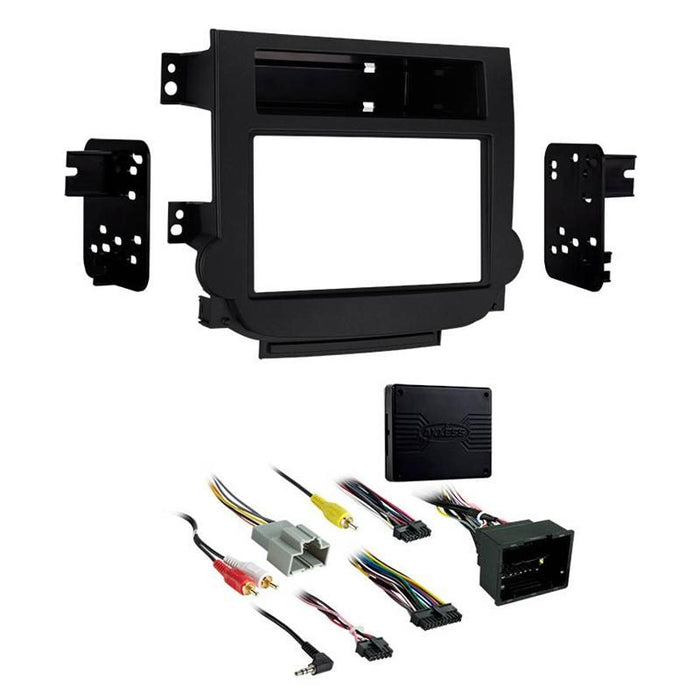 Metra 95-3318B Black 2-DIN Dash Kit for Select 13-up Chevrolet Malibu (3839323242560)
