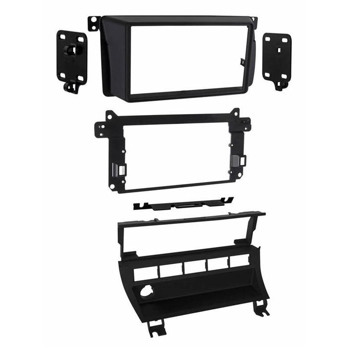 Metra 95-9310B Matte Black Double DIN Dash Kit for Select 1999-06 BMW (3839323537472)