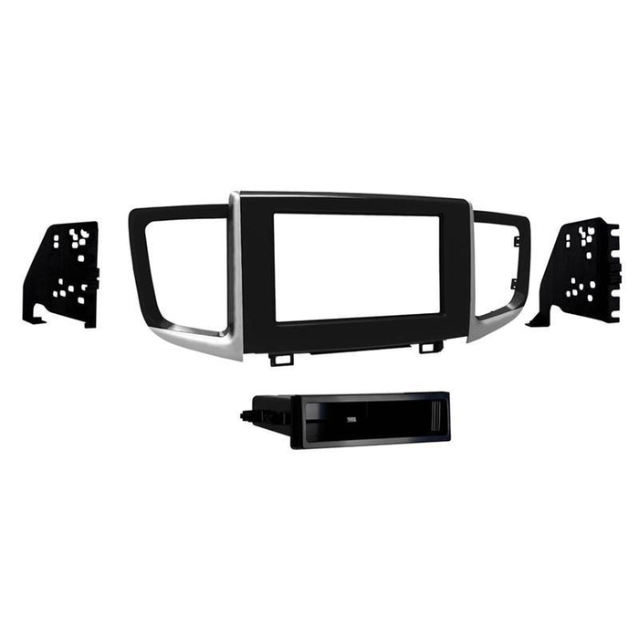 Metra 99-7811HG Gloss Black Single DIN Dash Kit for 16-up Honda Pilot (3839325012032)