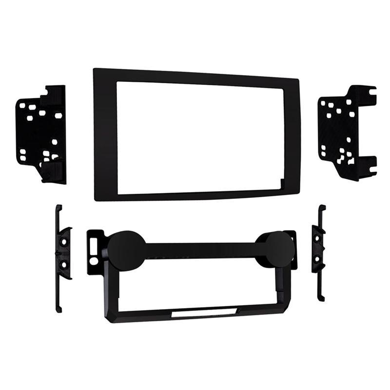 Metra 95-6533B Black 2-DIN Dash Kit for Select Chrysler/Dodge/Jeep (3839326322752)