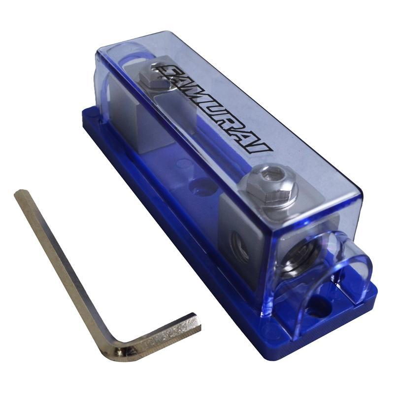 Platinum 1 Position 1//0//4 Gauge Input//Output ANL Fuse Holder with Free 150A Fuse
