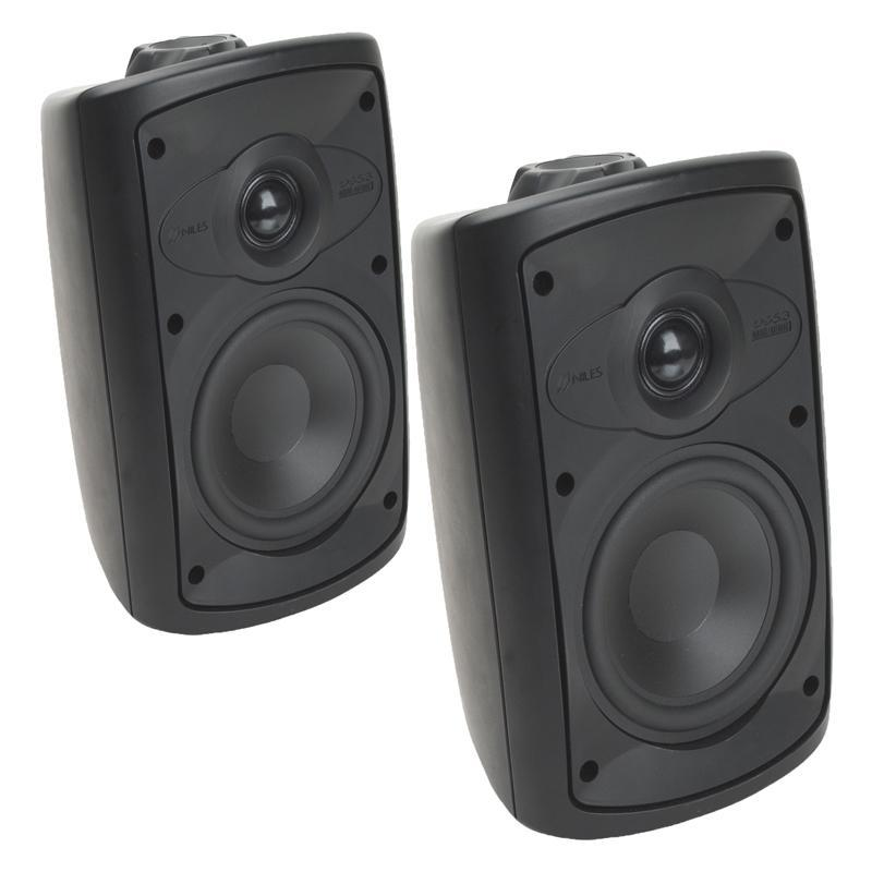 "Niles OS5.3 Black 2-Way 5"" Indoor/Outdoor Home Theater Speaker (pair) (3839412174912)"