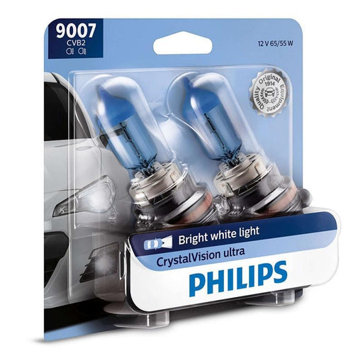 Philips 9007 Crystal Vision Ultra 65/55W HID Look Headlight (Pair)