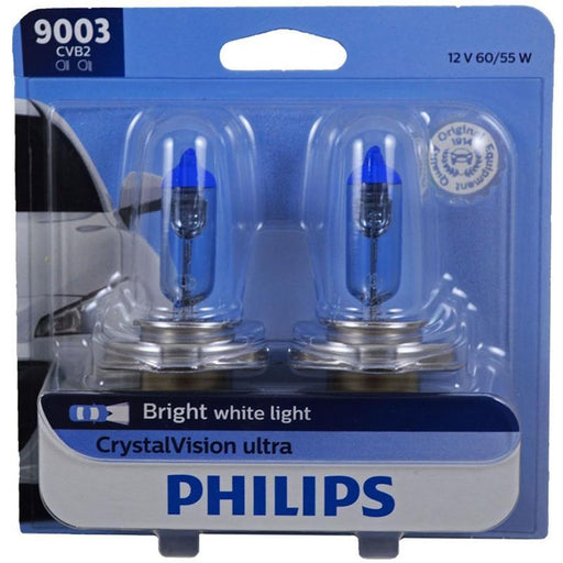 Philips 9003 HB2 60/55W Crystal Vision Ultra HID Look Headlight (Pair)