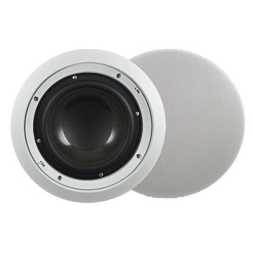 "SpeakerCraft 8.2BAS 8"" 100W In-Ceiling Deep Bass Subwoofer White (ea) (3839508217920)"
