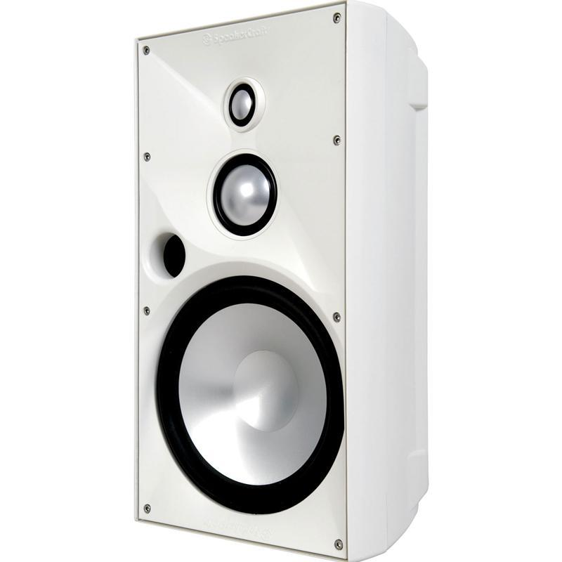 "SpeakerCraft OE8 Three White 8"" 3-Way Indoor/Outdoor Speaker (ea)"