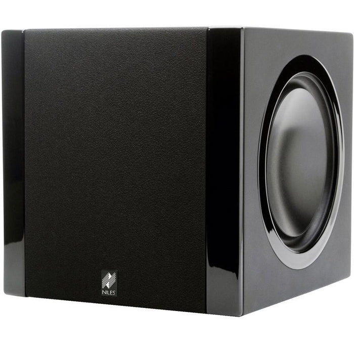 "Niles SW6.5 6.5"" Powered Compact Subwoofer for Home Theater 800W (ea) (3839508840512)"