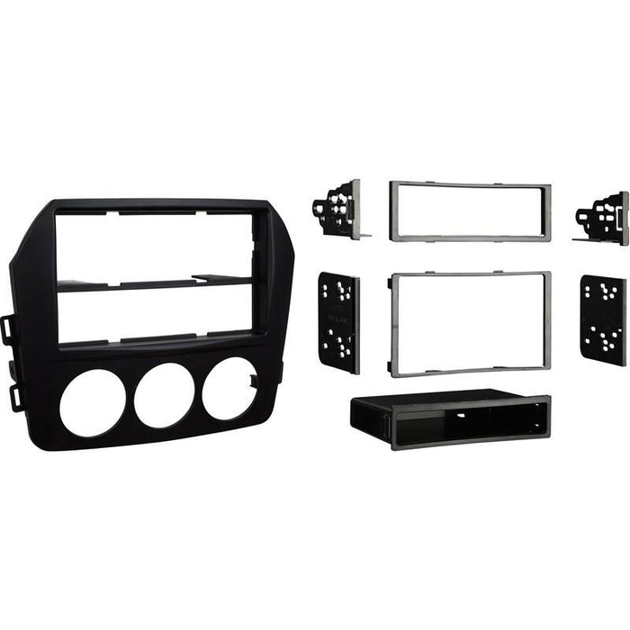 Metra 99-7519B Black 1 or 2 DIN Dash Kit for 09-15 Mazda MX-5 Miata (3839571853376)