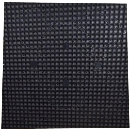 "Black Custom 12"" x 12"" x 1/8"" ABS Plastic Sheet for Speakers Stereos (3839572246592)"