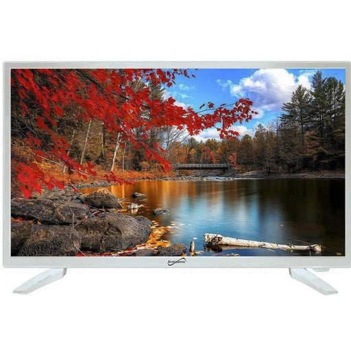 "Supersonic SC-2211WH White HDMI USB 1080p 22"" LED Widescreen HDTV (3839577423936)"