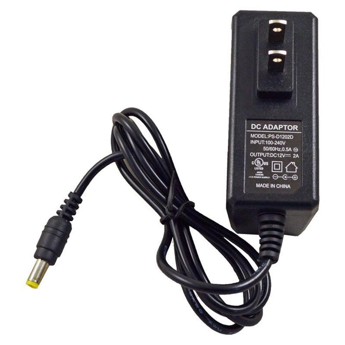 UL 12V DC 2Amp Power Supply Switch Adapter Security System Camera CCTV (3839589285952)