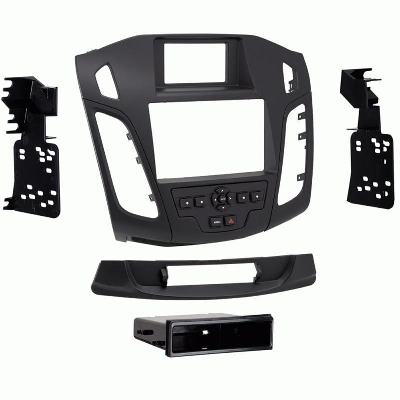 Metra 99-5843B Black Single/Double DIN Dash Kit for Select Ford Focus (3839610388544)
