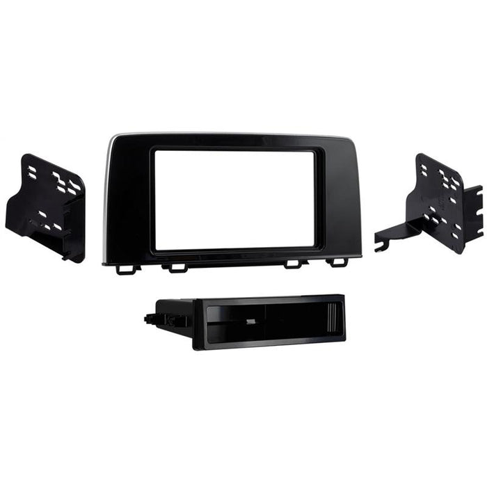 Metra 99-7817HG Black 1-DIN Dash Kit for Select 2017-up Honda CR-V LX (3839612485696)