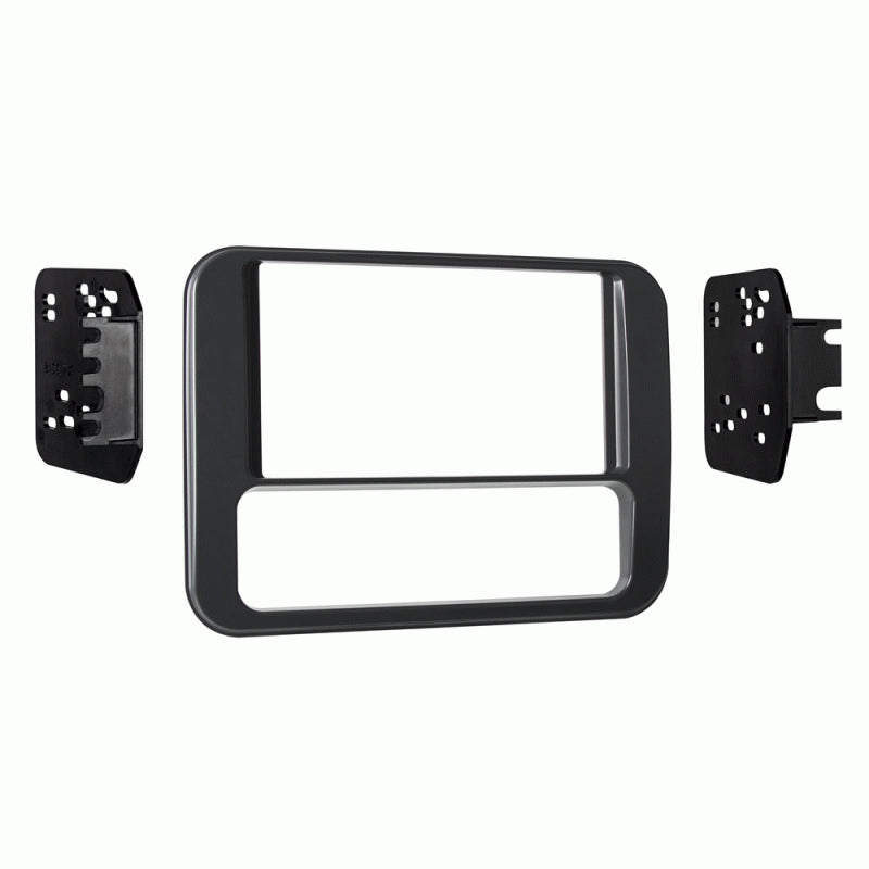Metra 95-3312G Gray Double DIN Dash Kit for 1993-2002 Pontiac Firebird (3839159795776)