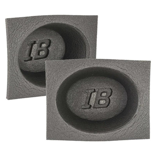 "The Install Bay IBBAF60 6""x8"" inch Foam Car Audio Speaker Baffle (pair)"