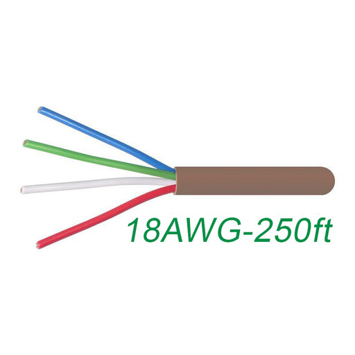 18-4 Thermostat Wire 18-Gauge Copper CMR Heating AC HVAC Cable 500FT (3839637225536)