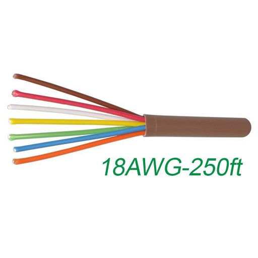 18-7 Thermostat Wire 18-Gauge Copper CMR Heating AC HVAC Cable 500FT (3839638241344)