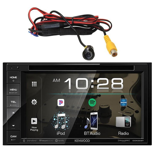Kenwood DDX26BT 2-Din Touchscreen Multimedia Receiver w/ Rear View Cam (3839673073728)