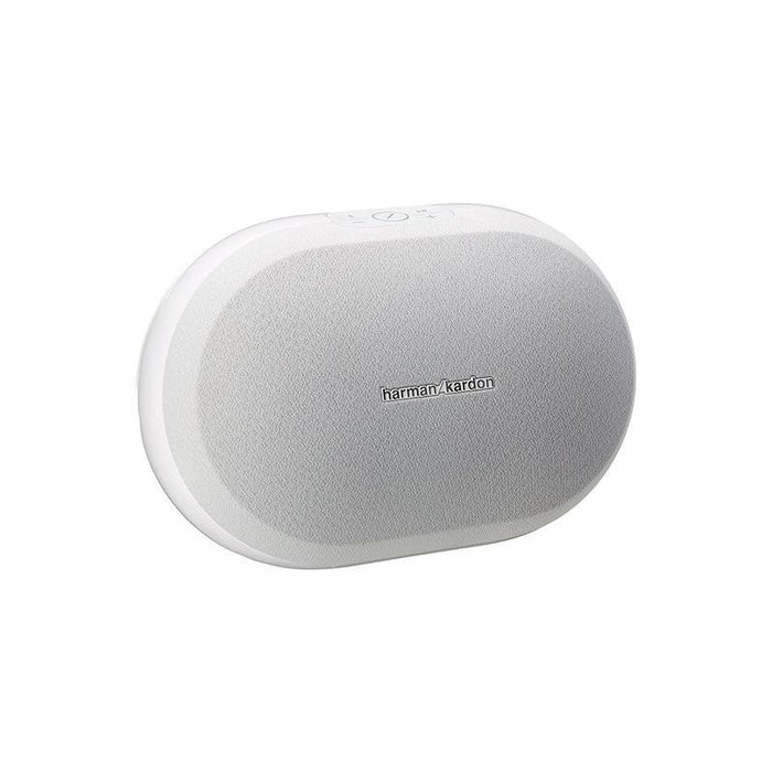 Harman Kardon Omni 20 Wireless Wi-Fi Bluetooth Smart HD Speaker(White) (3839675105344)
