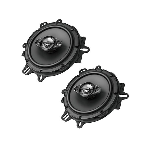 "Pioneer TS-A1680F 6.5"" 4-Way A-Series Coaxial Speakers 350W Max 80W Nom (3839709380672)"