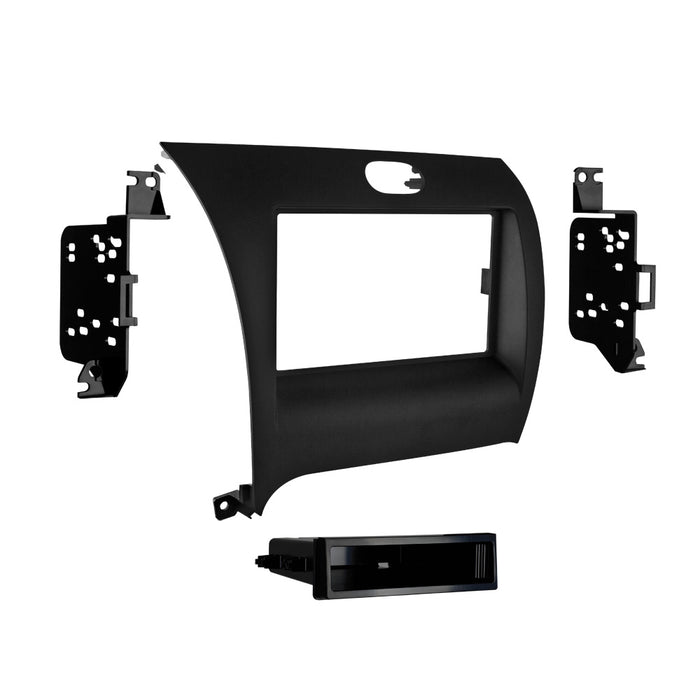 Metra 99-7356B Single DIN Radio Dash Kit for 14-up Kia Forte Vehicles