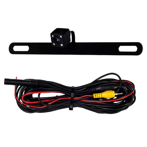 iBeam TE-BPCIR Universal License Plate Rearview Camera 170 Deg w/ IR LEDs (3839722848320)