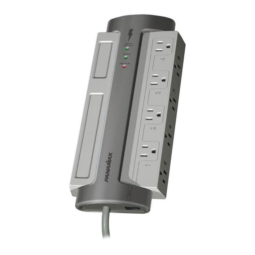 Panamax M8-EX 8 AC Outlet Surge Protector Noise Filtration 8 Feet Cord (3839725207616)