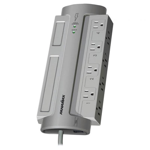 Panamax PM8-EX 8 AC Outlet Surge Protector Noise Filtration 6 Feet Cord (3839725666368)