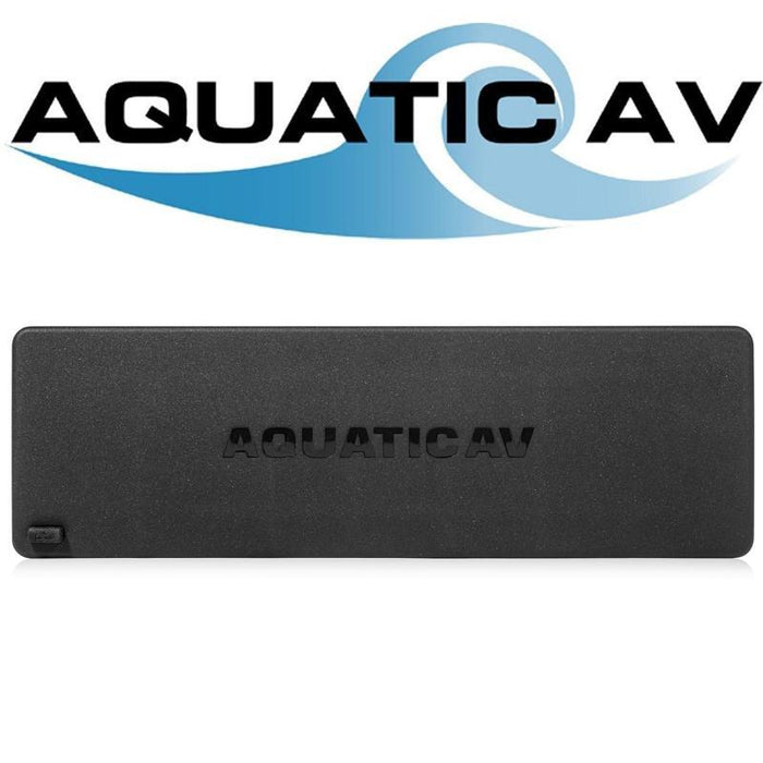 Aquatic AV AQ-MP-5DF Marine Motorcycle Dummy Faceplate Dust Cover for MP stereos (4168017444928)