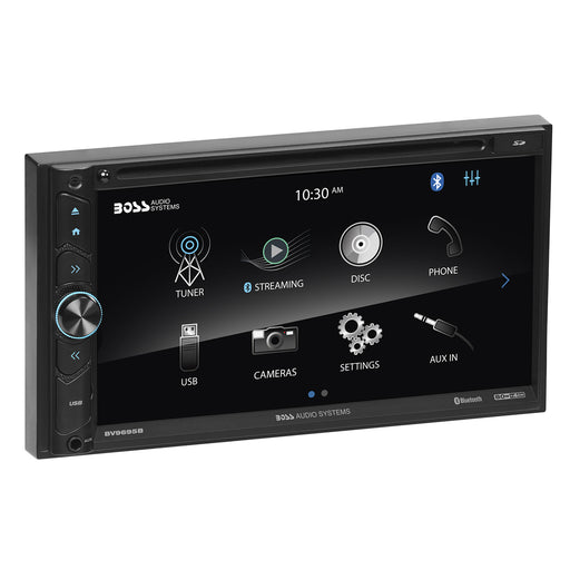 "Boss Audio BV9695B Double-DIN DVD Player 6.75"" Touchscreen Bluetooth w/ Remote"