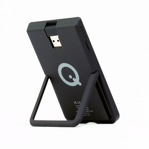SoloQi SLIM 2-Tone Portable Wireless Charger with Kickstand and Magnetic Pads (4349424631872)