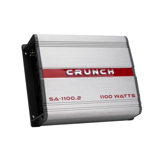 Crunch SA-1100.2 Smash Series 1100-watt 2-channel Class A/B Car Audio Amplifier