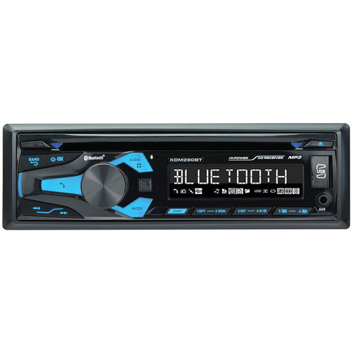 "Dual XDM280BT 3.7"" Single DIN In-Dash CD Car Receiver Built-in Bluetooth/USB"