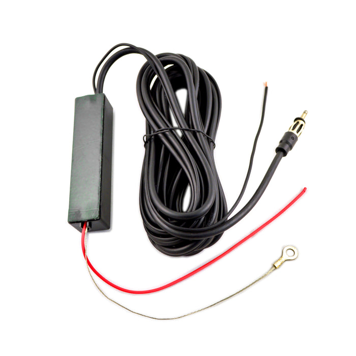 The Wires Zone AI-18 High Gain Amplified Electronic Magnetic Antenna