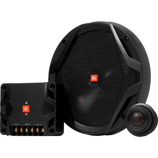 "JBL GX608C 6.5"" Component Speaker System with Polypropylene Cones (Pair) - Black"