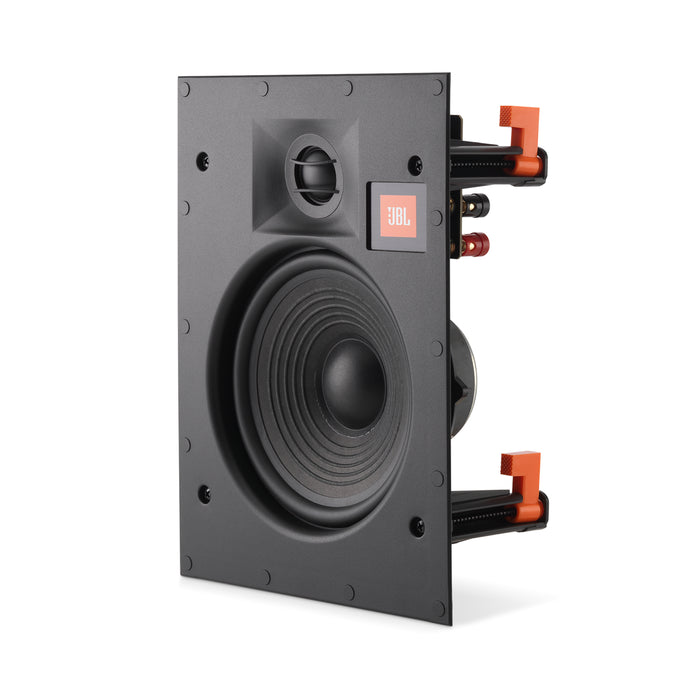 "JBL LAE6I 6.5"" in-Wall Speaker 2-Way Frameless Design and White Magnetic Grille (1-4 Pack)"