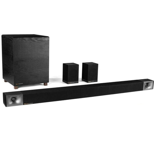 "Klipsch 48 5.1 8"" Wireless Subwoofer Home Theater Surround Sound Bar System"