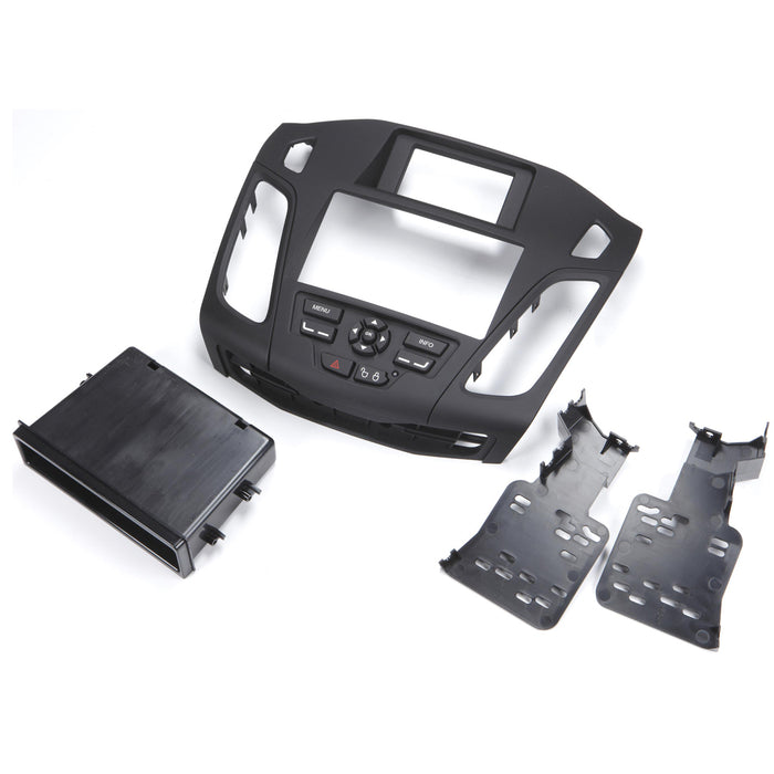 Metra 99-5827B 1 or 2 DIN Dash Kit + Taupe Vent for Select Ford Focus