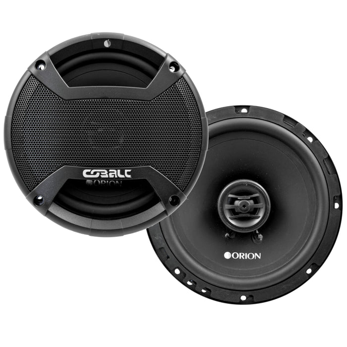 "Orion CO65 6.5"" Inches Cobalt Series 2 Way Full Range Coaxial Speakers 250 Watts"