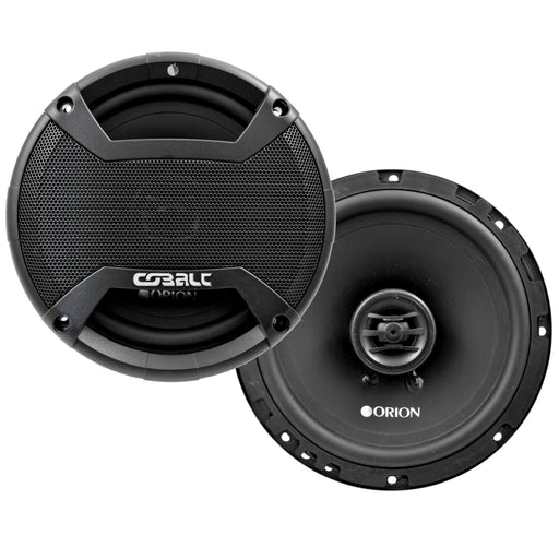 "Orion Cobalt Series CO65 6.5"" 250W Max and CO652C 6.5"" 500W 2-Way Coaxial Speakers Set"