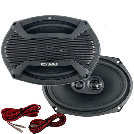 Orion CO693 Cobalt Series 6x9 inch Car Audio 3-Way Coaxial Speakers 400Watts Max