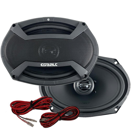 Orion CO69 Cobalt Series 6x9 inch Car Audio 2-Way Coaxial Speakers 350 Watts Max