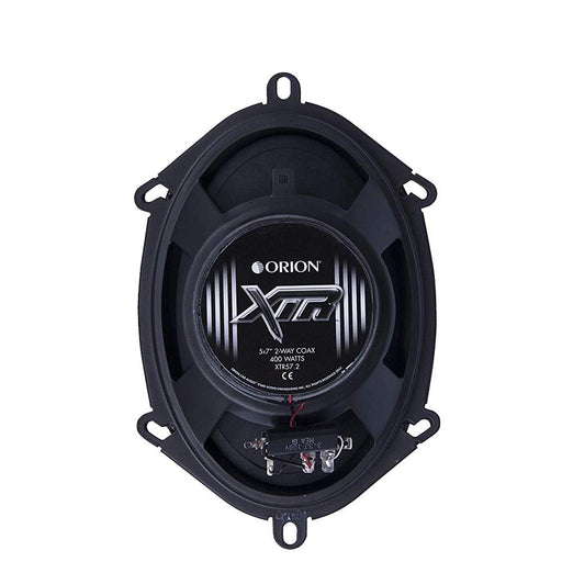 Orion XTR57.2 XTR 5x7 2-Way Coaxial Speakers 400W Super Strontium Ferrite Magnet
