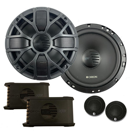 "Orion XTR65.SC 6.5"" 4 Ohm 450W Max Full Range Car Audio Speaker Component System"