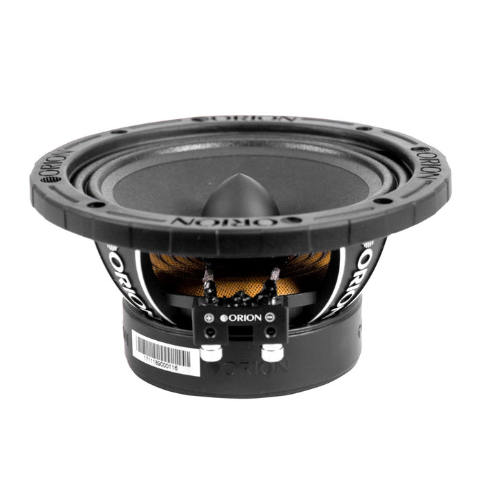 "Orion XTX658 6.5"" 1400 Watts Mid Range Bass Loud 8 Ohm Car Audio Speakers - Pair"