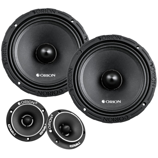 "Orion XTX858 8"" 1600W Midrange Speaker and Orion CTW2.0NEO 3.8"" 400W Tweeters Combo"