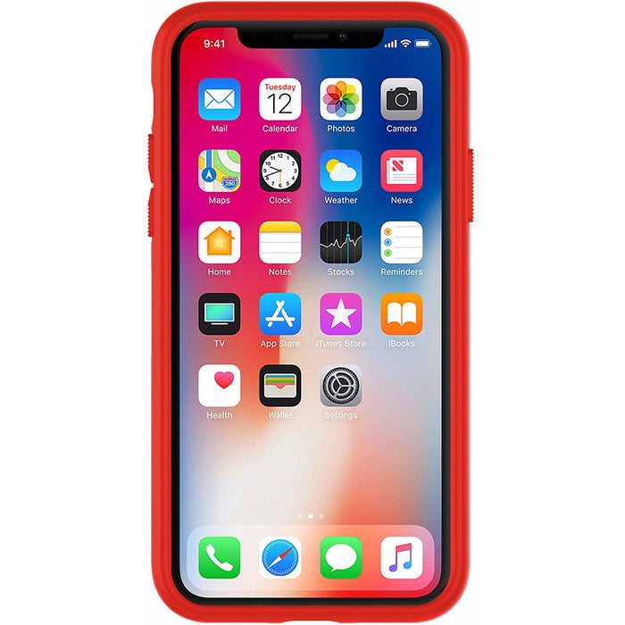 Under Armour UAIPH-014-BLKR-A UA Protect Arsenal Case for iPhone XS & iPhone X - Black/Red