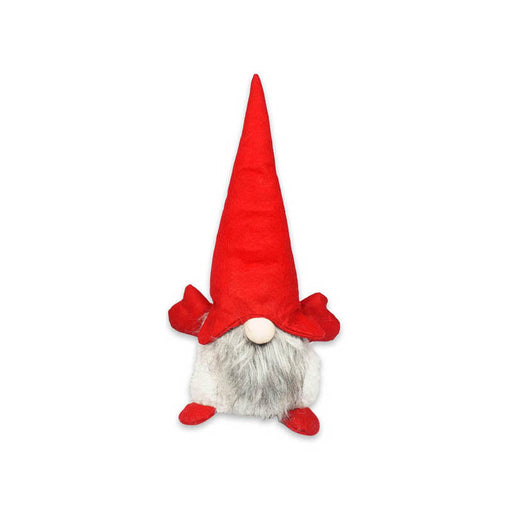 "20"" Christmas Gnome Tied Beard & Loose Beard Indoor/Outdoor Decoration"
