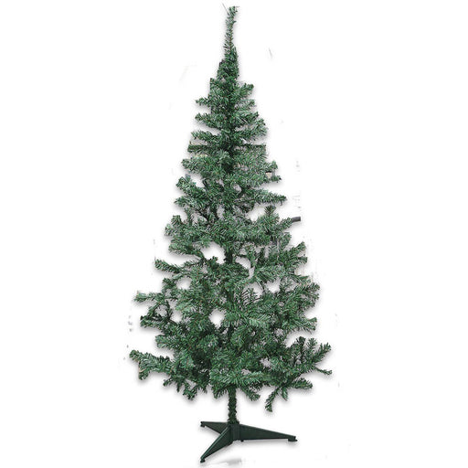 6 ft. Christmas Pine Tree Decoration with Plastic Legs Easy to Assemble